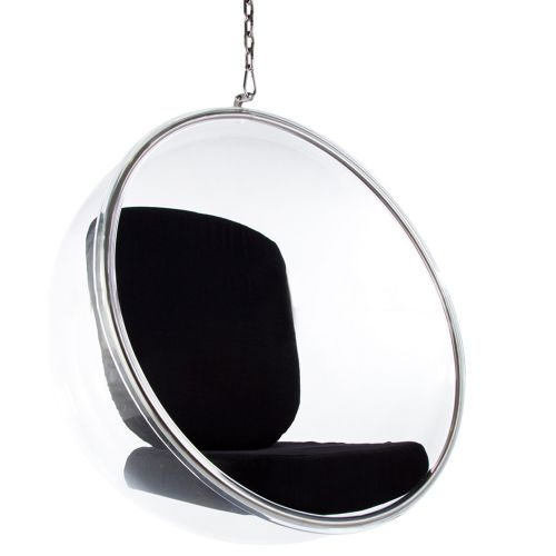 Eero Aarnio Style Bubble Chair - Black