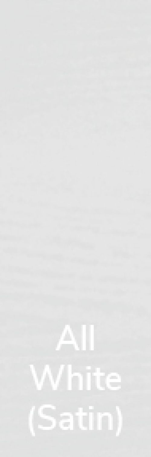 All White (Satin) Veneer