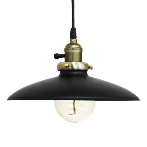 Alta Black Pendant Lamp