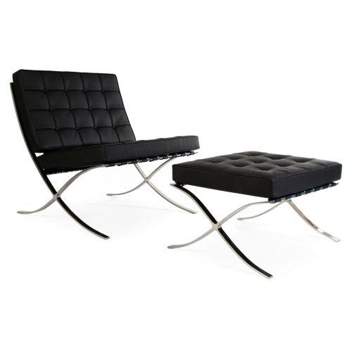 Pavilion Chair: 1 Seat & Ottoman