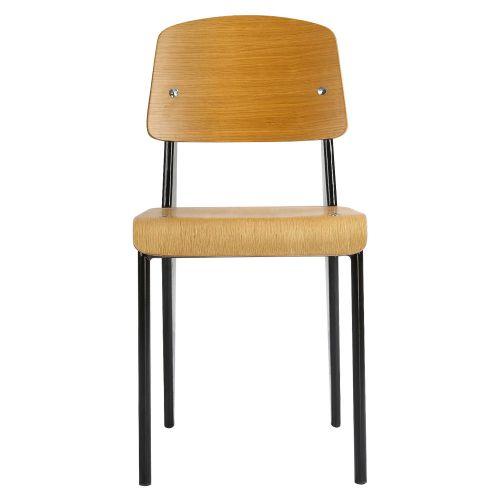 Jean Prouvé Style Standard Chair