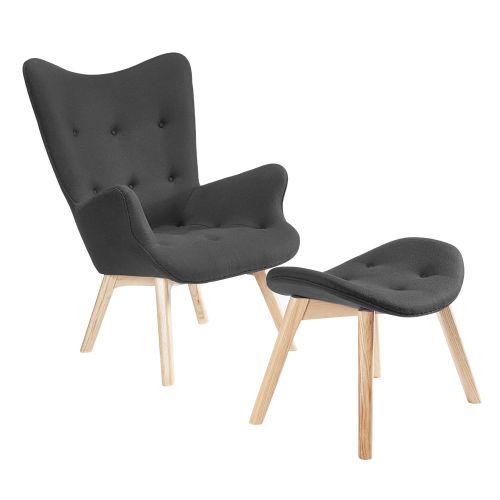 Contour Lounge Chair & Ottoman