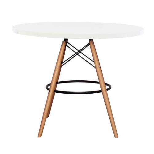 Charles Ray Eames DSB Style Table Round 90cm