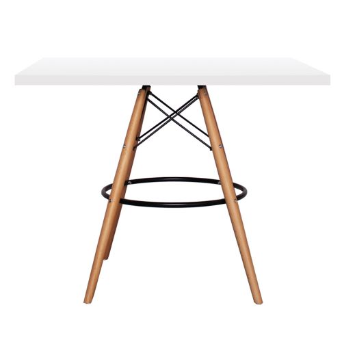 Charles Ray Eames DSB Style Table Square 90cm