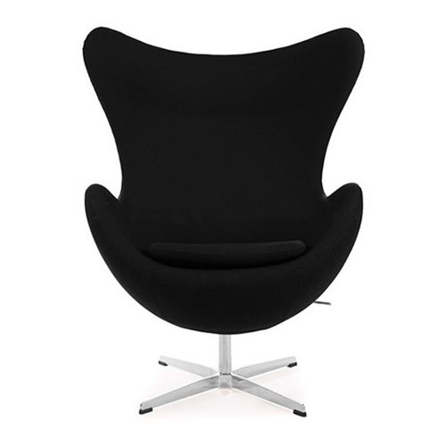 Arne Jacobsen Style Cashmere Egg Chair