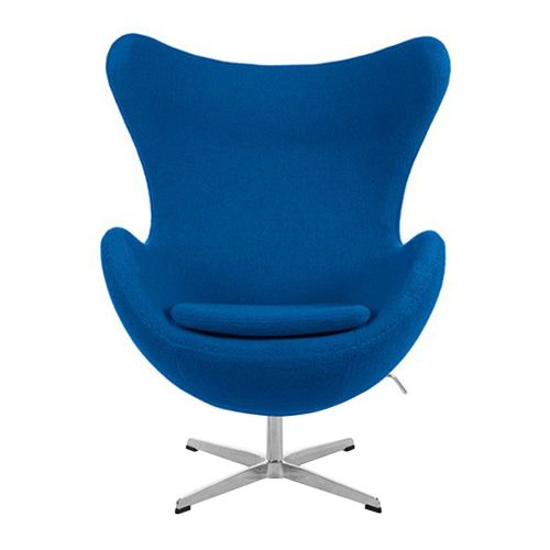 Arne Jacobsen Style Wool Egg Chair