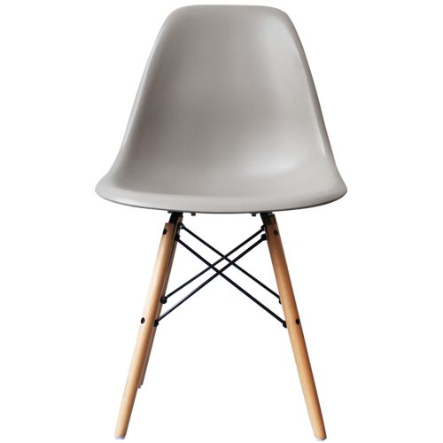 Charles Ray Eames Style DSW Side Chair Natural Legs