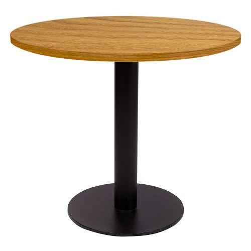 Ferrara Coffee Table (Veneer Top, Round Base)
