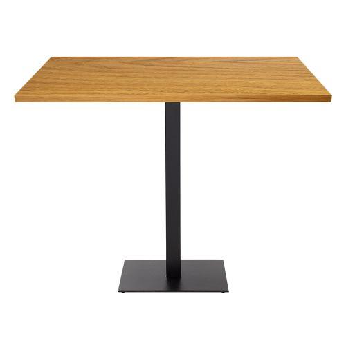 Ferrara Single Pedestal Poseur Table (Veneer Top)
