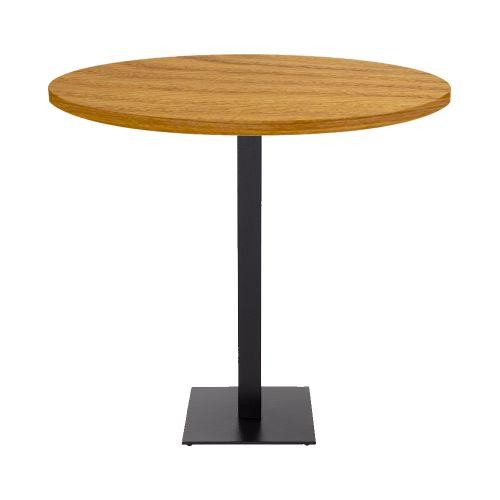 Ferrara Poseur Table (Veneer Top, Square Base)