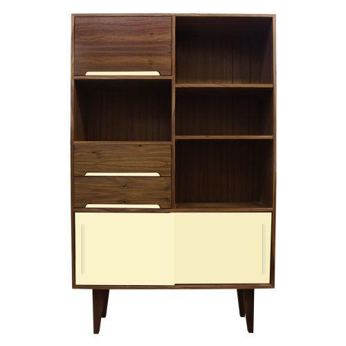 Kensington Walnut Bookcase