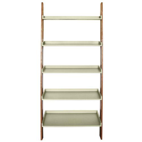 Kensington Oak Ladder Shelf Storage Unit
