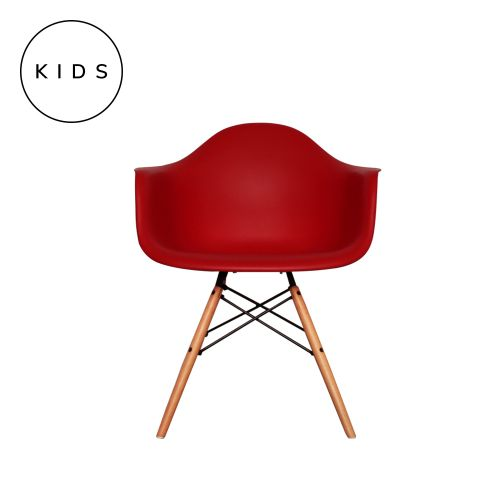 Childrens Charles Ray Eames Style DAW Arm Chair