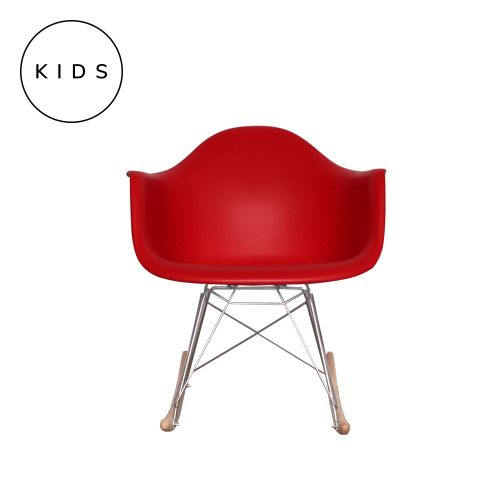 Childrens Charles Ray Eames Style RAR Rocking Chair