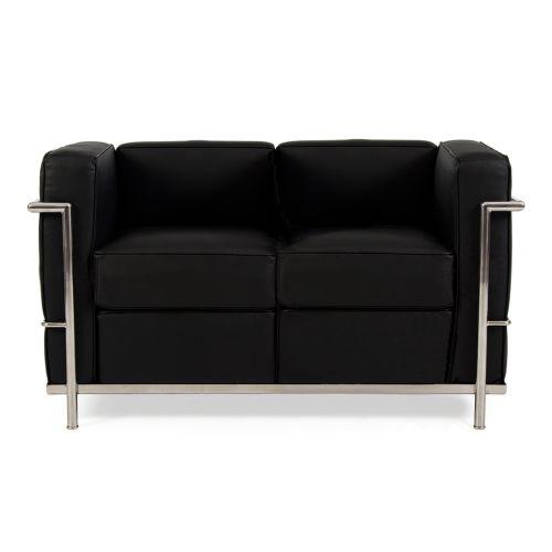 Le Corbusier LC2 Petit 2 Seat Sofa