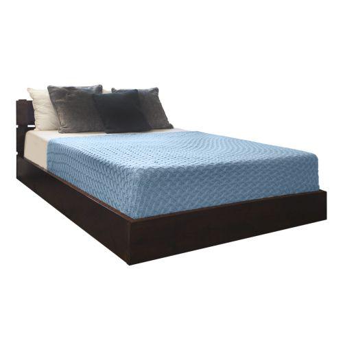 Littlethorpe Premium Low Bed (Slanted Headboard)