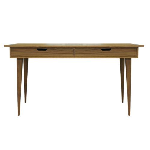 Malmo Draw Oak Desk - All Oak