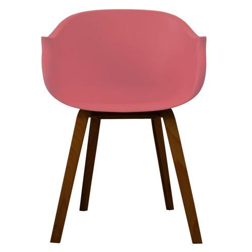N-Arch Walnut Arm Chair