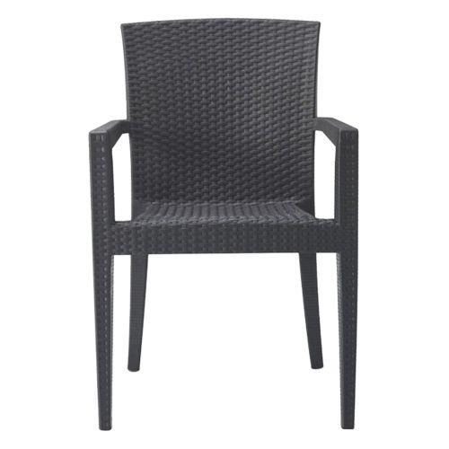 Novara Indoor/Outdoor Stackable Armchair