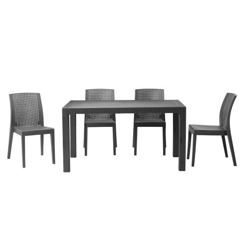 Novara Indoor/Outdoor Dining Set