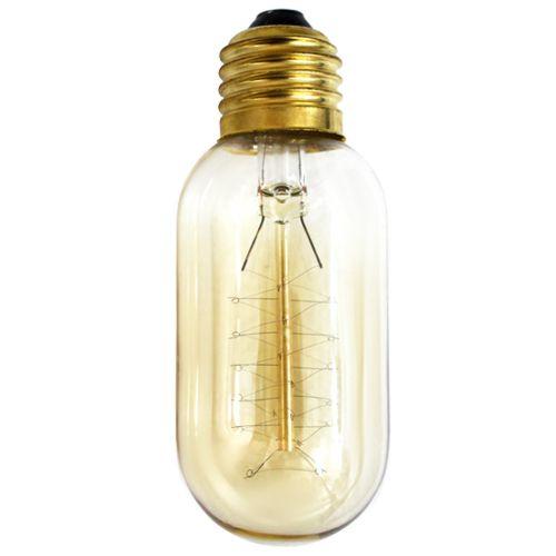Edison Pill Spiral Incandescent Vintage Bulb