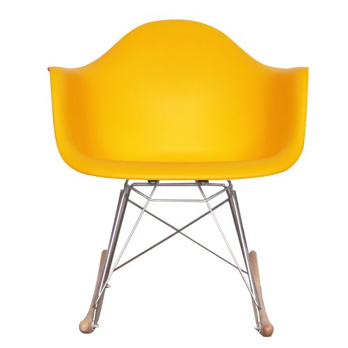 Charles Ray Eames Style RAR Rocking Chair