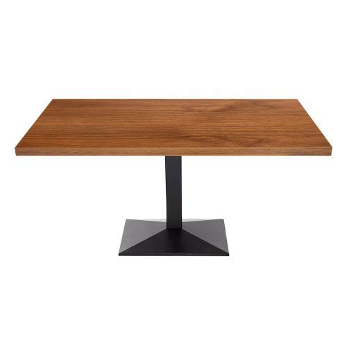 Rovigo Single Pedestal Coffee Table (Veneer Top)