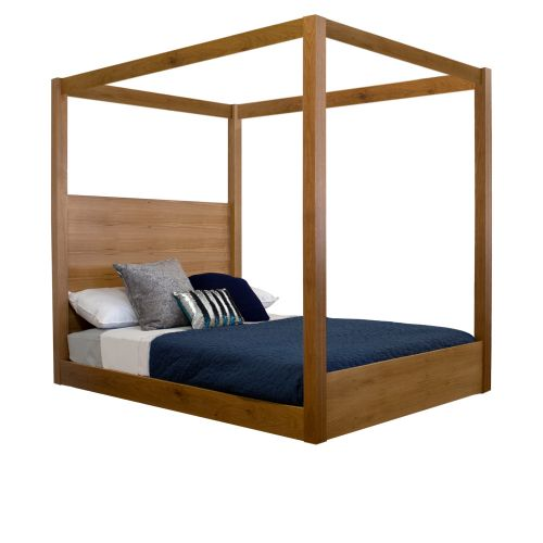 Satchville Low Four Poster Bed