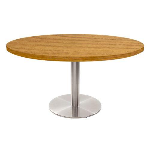 Verona Coffee Table (Veneer Top, Round Base)
