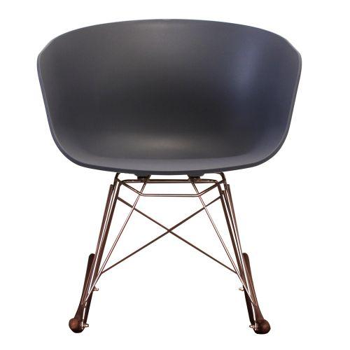 Vogue RAR Rocking Chair Walnut
