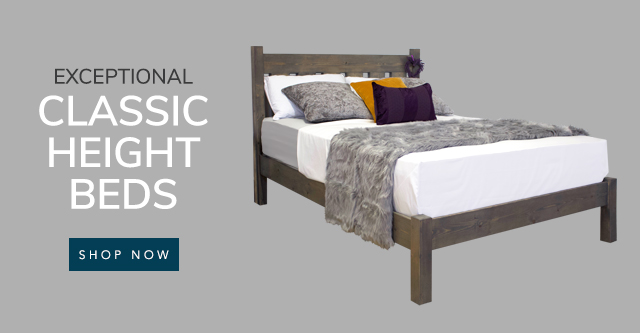 Classic Height Beds